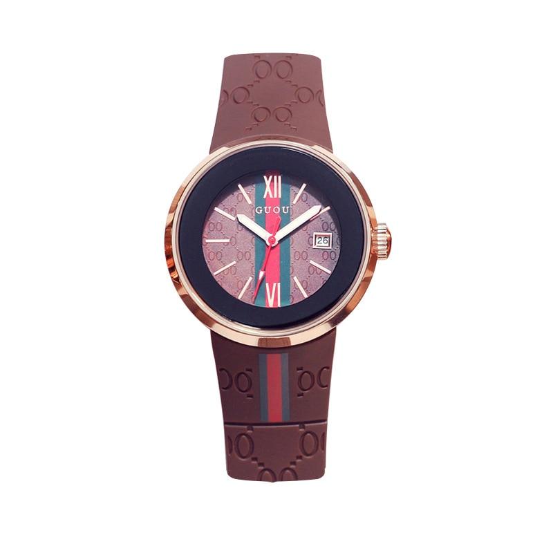 2018 deporte de moda relojes de silicona mujeres reloj de cuarzo - Relojes para mujeres