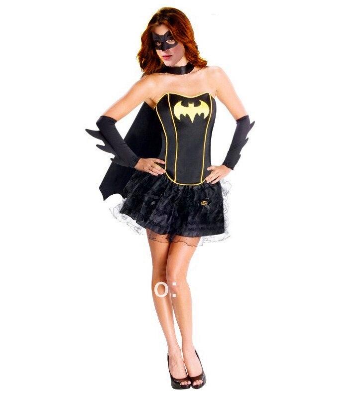 送料無料レディースバットガールバットガール女性スーパーヒーローゴッサムハロウィンスーパーヒーローコスチューム衣装
