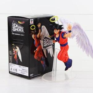 Image 5 - 드래곤 볼 드라마틱 쇼케이스 피규어 Gokou Gohan Cell Frieza Trunks 카카 롯토 DBZ Anime Collectible Model Toys