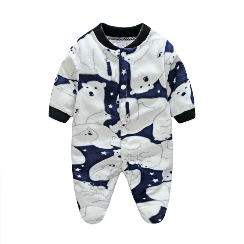 0a45a8516 Baby Boys Clothing New 2015 Autumn Winter Baby Rompers clothes long ...