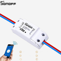 SONOFF Dc220v Remote Control Wifi Switch Smart Home Automation Intelligent Wireless Center For Light 10A 2200W