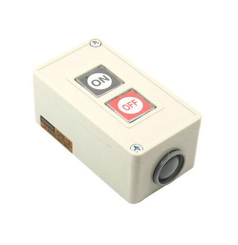 CPB-2 AC 250V 3A ON/OFF 3 Phase NO-Locking Power Push Button Switch pb 2 ac 250v 3a on off momentary push button switch box