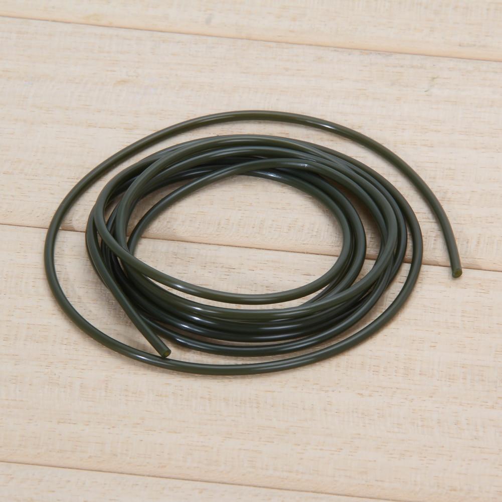 2m Carp fishing Plastic rigs tube Inner diameter 1mm ID sleeve pretend fishing lines Useful accessory for outdoor carp fishing