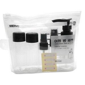 Image 2 - OutTop botella pulverizadora portátil para viaje, conjunto de botella pulverizadora para cosméticos de belleza, maquillaje, JAN11, 1 unidad