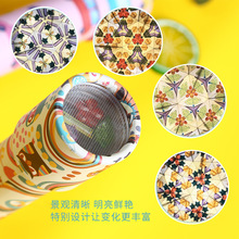 Cartoon Rotating Kaleidoscope Colorful World Magic Baby Early Educational Unicorn Toys For Children Birthday Gift