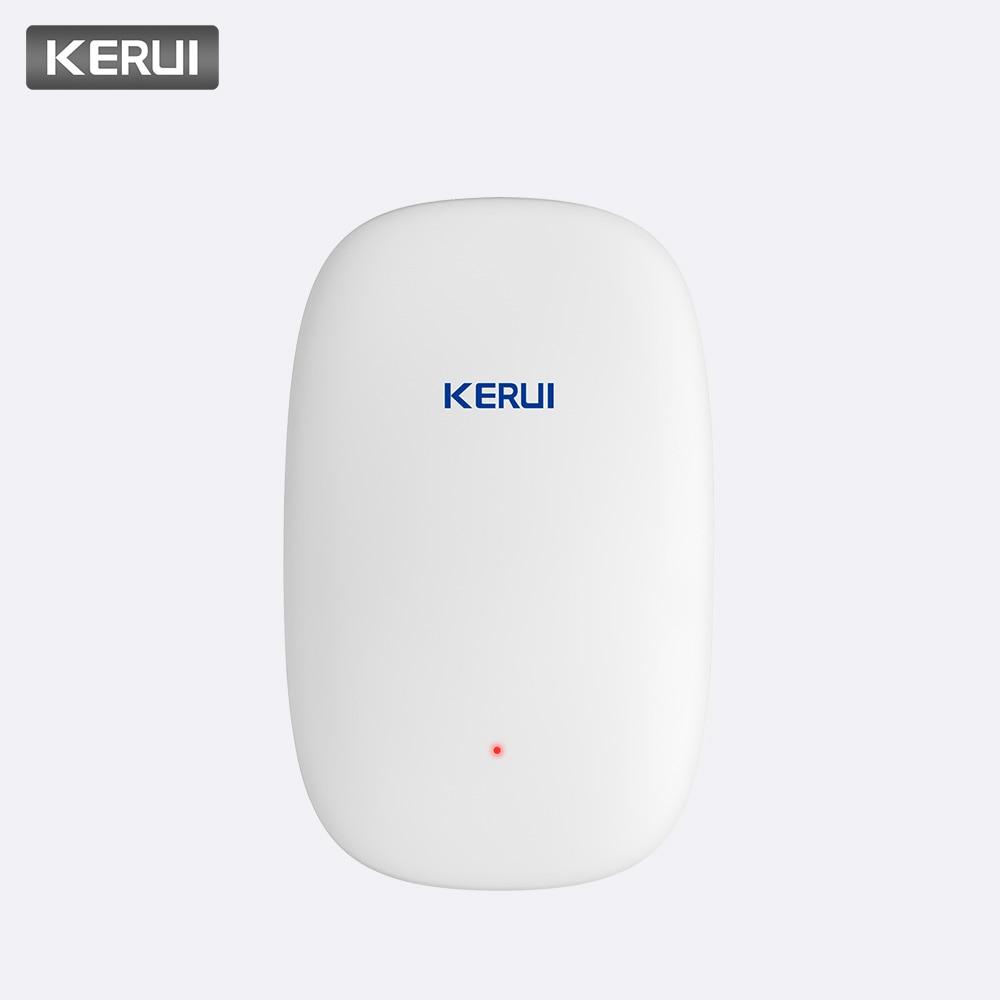 KERUI High Quality Z31 Wireless Smart Vibration Detector Shock Door Window Sensor Alarm For KERUI Home Security Alarm System