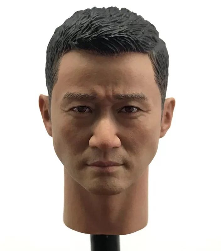 GACTOYS GC010 1/6 Wolf Warriors Jason Wu Chinas tough guy head play in stock