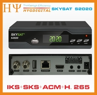 5PCS/LOT [5PCS] SKYSAT S2020 IKS SKS VOD ACM IPTV M3U H.265 most stable server Twin Tuner Satellite Receiver