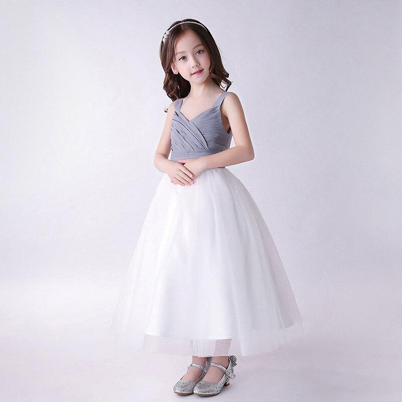 de Formatura vestido de Baile Crianças Roupas