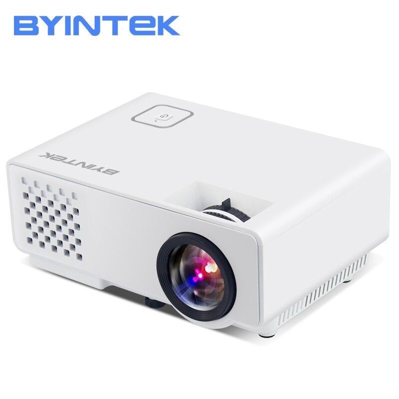BYINTEK ML218 мини Портативный <font><b>HD</b></font> светодиодный видео проектор для <font><b>fULl</b></font> <font><b>hd</b></font> 1080 P домашний кинотеатр HDMI, VGA, USB