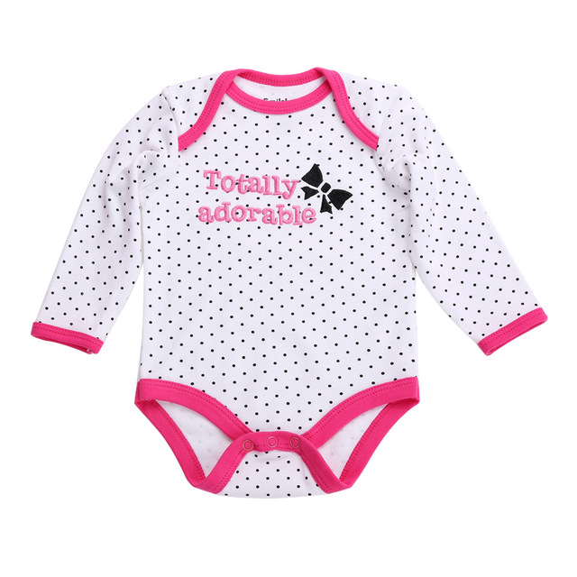 dace28249aa5 100% Cotton New Born Baby Clothes Cute Cow Baby Rompers Baby Girl ...