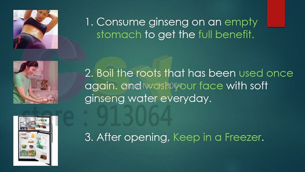 ginseng instruction6