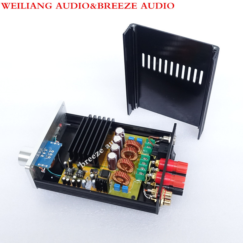 Breeze Audio & Weiliang Audio SA1  TAS5630 AD827 300W+300W 4ohm Class D Amplifier микшерный пульт pioneer tas 1 tas 1