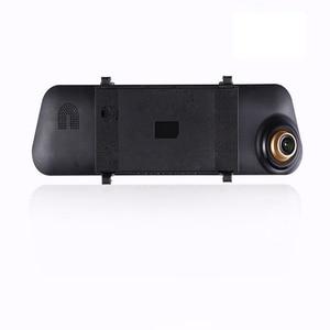 Image 4 - 4.3 بوصة 1080P جهاز تسجيل فيديو رقمي للسيارات كاميرا مرآة مع الرؤية الخلفية عدسة كاميرا مزدوجة السيارات القيادة مسجل فيديو G الاستشعار مركبة داش كام