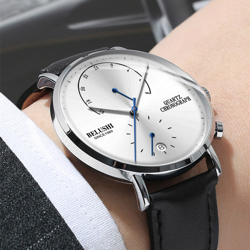 Man Business Wrist Watch Mens Watches Chronograph 2019 Luxury Brand Male Clock Quartz Wristwatch Watch Men Relogio MasculinoMan Business Wrist Watch Mens Watches Chronograph 2019 Luxury Brand Male Clock Quartz Wristwatch Watch Men Relogio Masculino