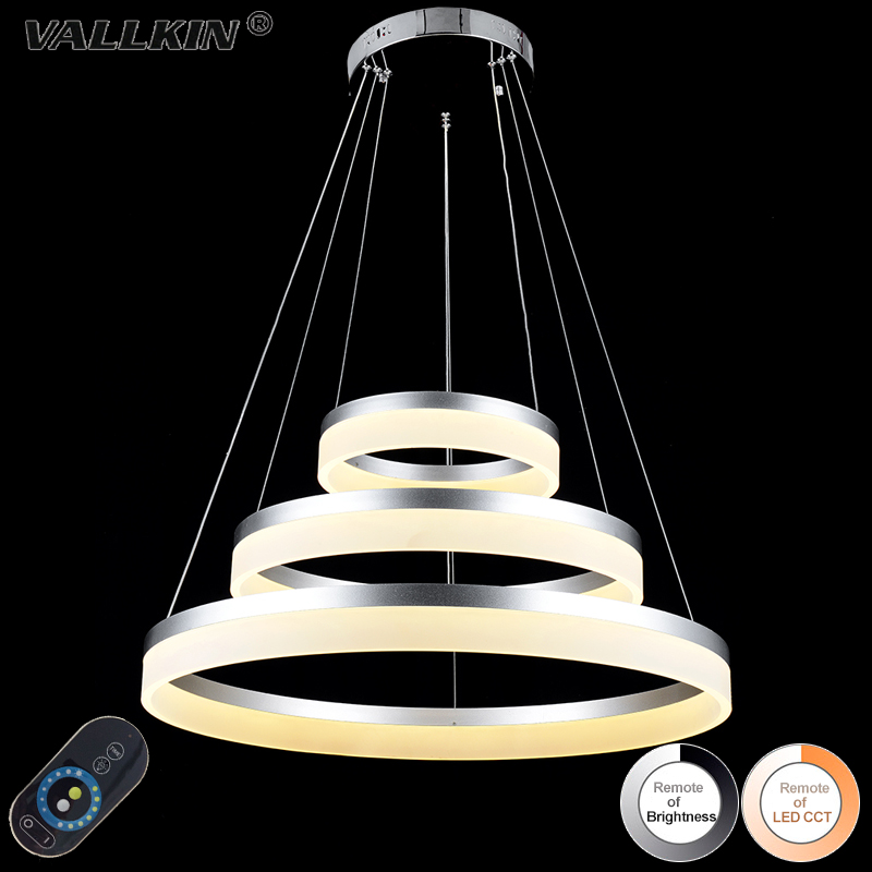 DIMMABLE LED Pendant Lights Round DIY Styling Acryl Lighting Lamp Indoor Decoration Acrylic Light Fixtures with Remote Control dimmable pendant lights led crystal lighting hanging lamps indoor home light with remote control for hallway indoor home deco