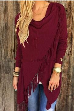 Õhuke narmastega sviiter