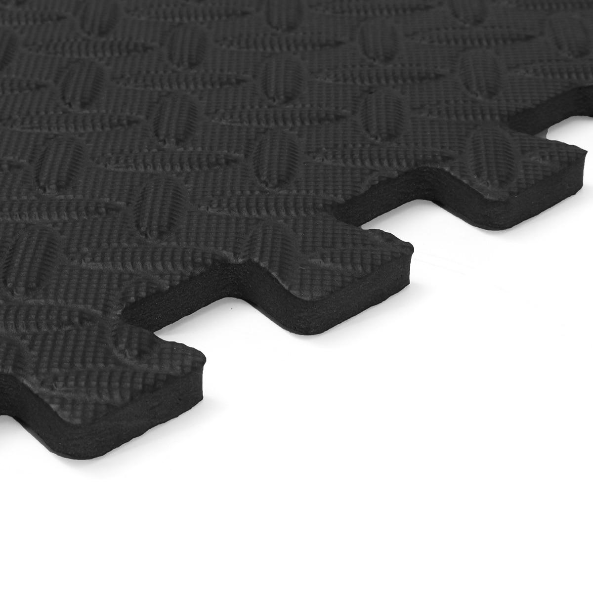 10 PCS EVA Rubber Foam Play Mat Camping Gym Mat Kids Fitness Exercise Floor Carpet Rug 60x60x1cm