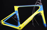 carbon road frame T1000 full carbon fiber DI2 Mechanical bicycle racing 49/52/54/56/58cm Road bicycle carbon bicycle handlebars