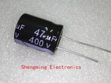 50 sztuk 400V 47UF kondensator elektrolityczny 47UF 400V 105C 16x25mm