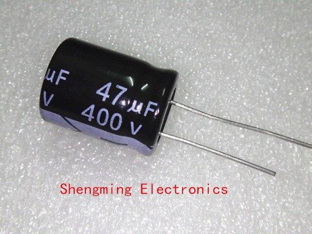 50pcs 400V 47UF קבל אלקטרוליטי 47UF 400V 105C 16x25mm