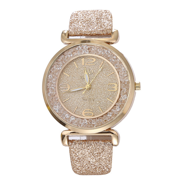 2018 Best Selling Watch Fashion Women Watches Luxury Crystal Rhinestone Stainless Steel Quartz WristWatches Dropshipping relogio