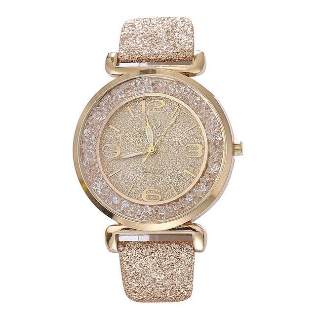2019 הנמכר ביותר שעון אופנה נשים שעונים יוקרה קריסטל ריינסטון נירוסטה קוורץ שעוני יד Dropshipping relogio