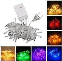 20m 9 Color AC110 220V Led String Light 200 Leds Wedding Partying Xmas Christmas Tree Decoration