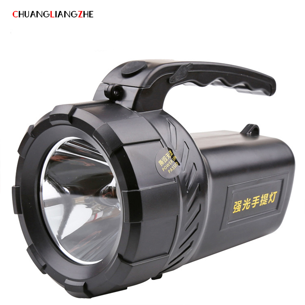 CHENGLIANGZHE Portable Flashlight Searchlight 18650 battery Rechargeable hunting LED flashlight work light camping light