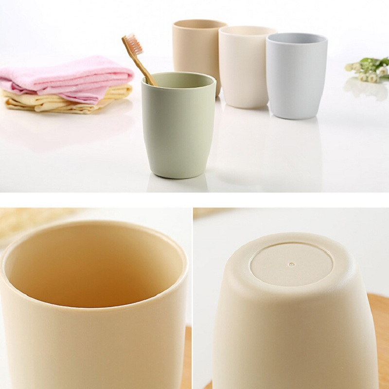 400ml Plastic Bathroom Tumbler Toothbrush Makeup Brush Holder Water  Drinking Beer Milk Coffee Mugs For Sports Travel Home Office In Mugs From  Home U0026 Garden ...