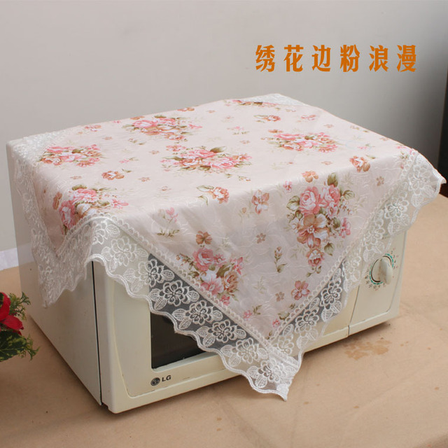 Quality embroidered romantic gremial powder universal cover towel table cloth