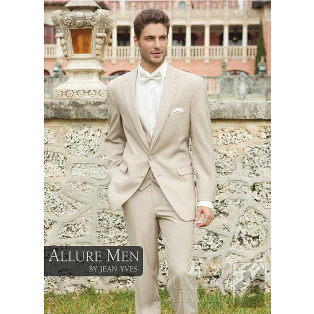 New Arrival Allure Two Buttons Groom Tuxedo Best Man Groomsman Suit Men Destination Wedding Suits Formal