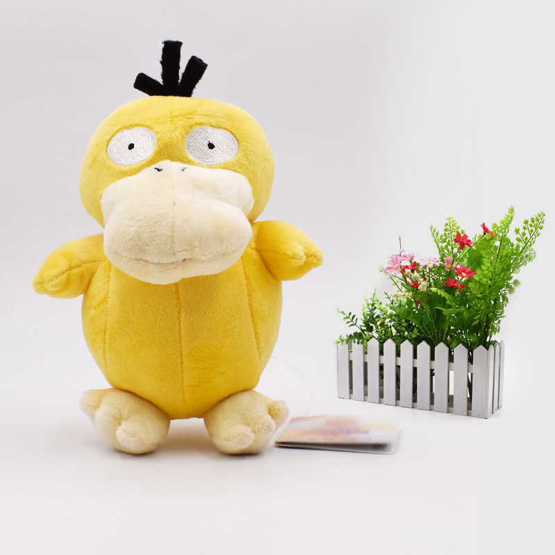 17 Cm Animal Cartoon Plush Peluche Doll Psyduck Soft Stuffed Hot Toy Great Christmas Gift For Children