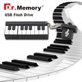USB flash drive de la música de Piano de la moda Flash USB 2.0 Unidad de Memoria Pluma del Palillo/del Pulgar/pendrive de 4 GB 8 GB 16 GB 32 GB 64 GB