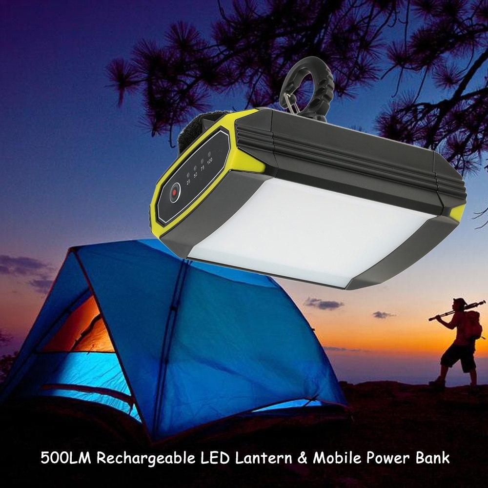 500LM Super Lumineux Léger 30 led Randonnée lanterne de camping En Plein Air éclairages portables Lampe Étanche lampe de poche rechargeable USB
