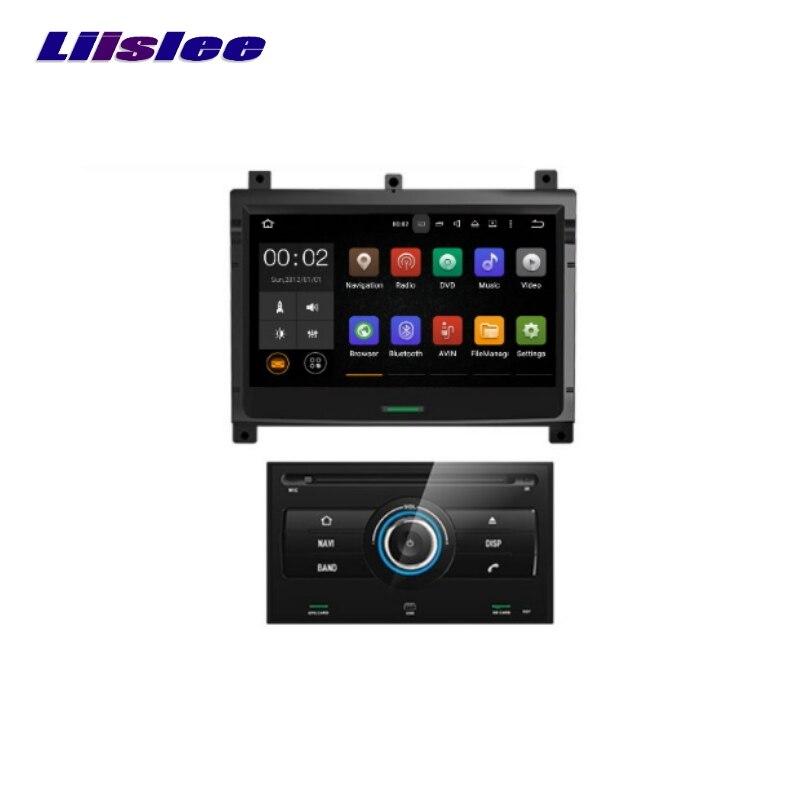 Pour Nissan Patrol 2004 ~ 2009 LiisLee Voiture Multimédia TV DVD GPS Audio Salut-fi Radio Style Original de Navigation Avancée NAV INAVI
