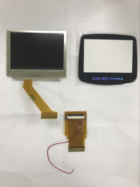 For GameBoy Advance LCD Screen For GBA SP AGS 101 Highlight Screen LCD with backlight Glass