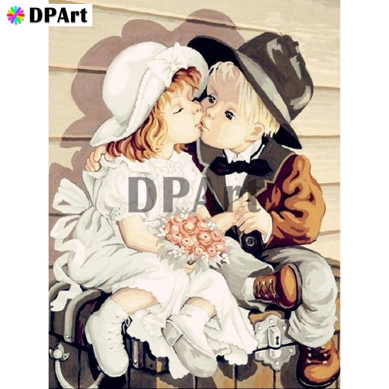 Diamond Painting 5D Full Square/Round Drill Boy&girl Kiss Daimond Embroidery Painting Cross Stitch Mosaic Crystal Picture M821Diamond Painting 5D Full Square/Round Drill Boy&girl Kiss Daimond Embroidery Painting Cross Stitch Mosaic Crystal Picture M821