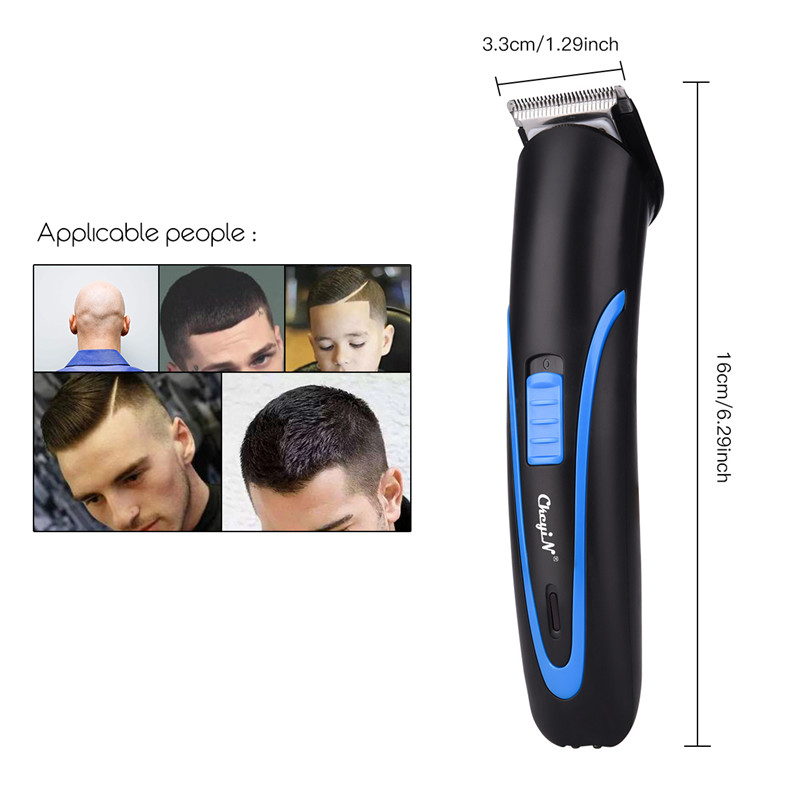 Professional Rechargeable Hair Clipper Electric Cordless Mini Men's Hair Trimmer Cutting Shaving Machine Beard Trimer Barber P40