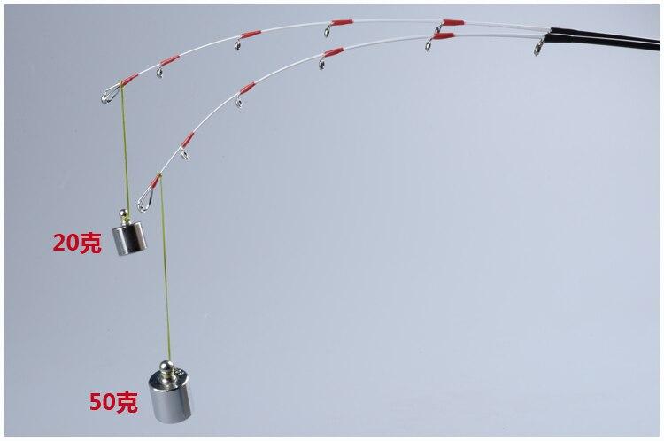 vara de pesca liga titânio material de