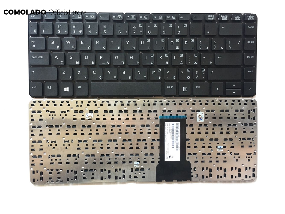 RU Russian <font><b>Keyboard</b></font> for <font><b>HP</b></font> ProBook <font><b>430</b></font> G1 BLACK For Win8 RU Laptop <font><b>Keyboards</b></font> RU LAYOUT image