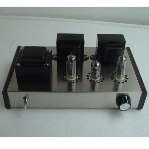 цена на 2017 6N2+6P1 Class A Vacuum Tube Amplifier Stereo Integrated Amp 4W+4W Pure Handmade