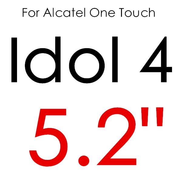 Экран протектор Закаленное Стекло для Alcatel One Touch Pop 3 5,5 5025D Idol 3 POP4 5051 4S Pixi 4 5,0 5010 Pixi3 4,5 5019D 5017 - Цвет: For IDOL 4