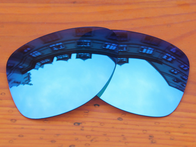 Ice Blue Mirror Polarized Replacement Lenses For Dispatch 2 Sunglasses Frame 100% UVA & UVB Protection
