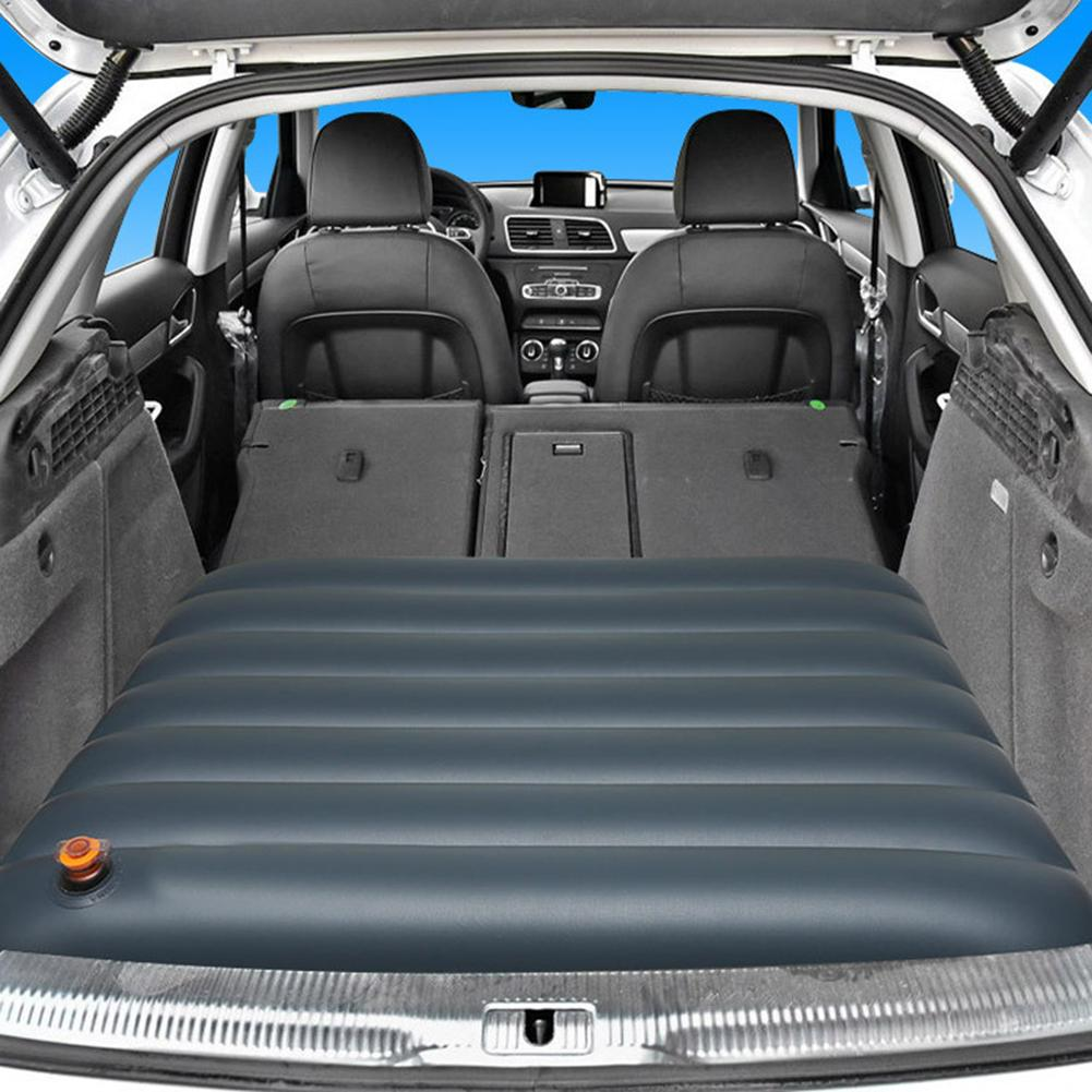 Automotive Car Air Mattress Travel Bed Inflatable Mattress Air Bed Foldable Trunk Camping Sofa Back Seat Cushion Good Quality