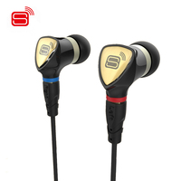 Original SENFER 4 In1 In Ear HIFI Earphone Dynamic BA Hybrid Drive Unit DIY DJ Earphone