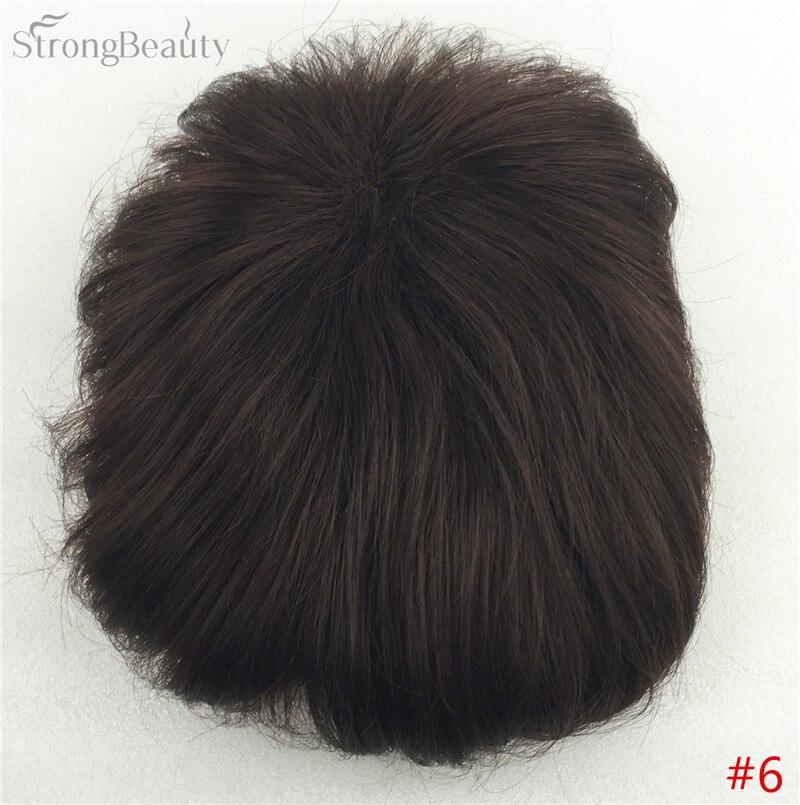 Сильная красота парик синтетические волосы парик выпадение волос топ кусок парики 36 цветов на выбор - Цвет: #6