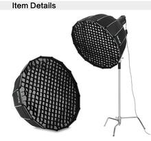 Selens 90 см 120 см 150 см 190 см Фотографии Honeycomb Сетка для Вспышки Softbox Диффузор Nikon Canon SpeedLight