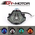 Светодиодный задний фонарь для мотоцикла  интегрированный с двигателем GT  красный  синий  зеленый  дымчатый  для YAMAHA R3 2015-2016  R25  2014-2015 г.  для м...