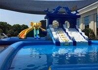sea conch park inflatable water park fantasy ocean park